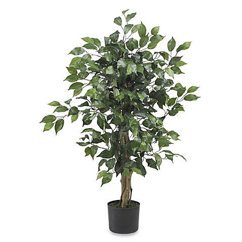 Nearly Natural 3' Ficus Silk Tree