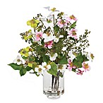 Nearly Natural Dogwood Silk Flower Arrangement