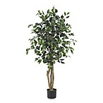 Nearly Natural 4-Foot Ficus Silk Tree
