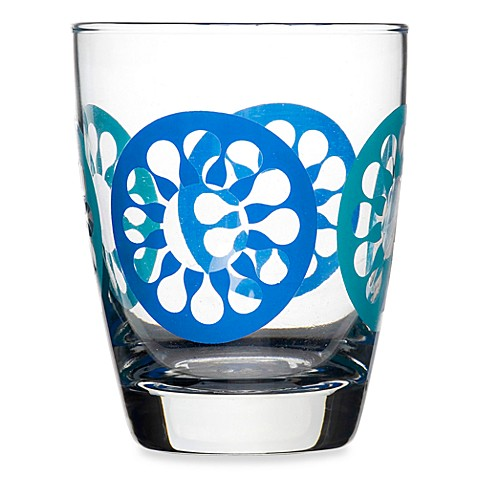 Sagaform® Set of 4 Juicy Drink Glasses in Blue