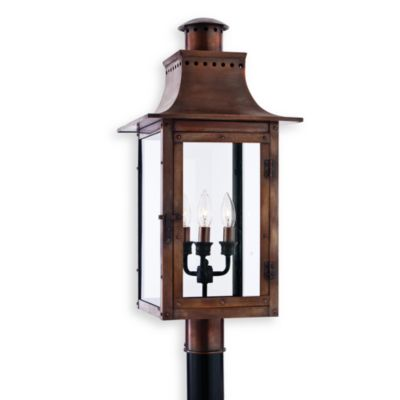 Quoizel® Chalmers 3-Light Outdoor Fixture