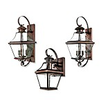 Quoizel Carleton Wall-Mounted Outdoor Light Fixture in Aged Copper