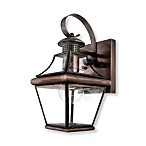 Quoizel Carleton 1-Light Outdoor Fixture in Aged Copper