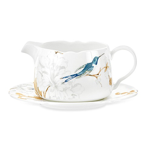 Spode® Nectar 16-Ounce Gravy Boat with Stand