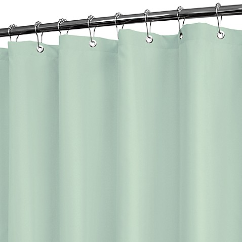 Park B. Smith® Dorset Solid Mineral 72-Inch x 72-Inch Watershed® Shower Curtain