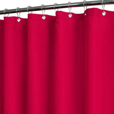 72 x 72 Park B. Smith® Red Shower Curtain