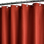 Park B. Smith® Dorset Solid Russet 72-Inch x 72-Inch Watershed® Shower Curtain