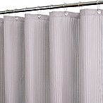 Park B. Smith® Satin Stripe Antique Silver 72-Inch x 72-Inch Watershed® Shower Curtain