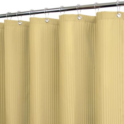 Park B. Smith® Satin Stripe Sahara 72-Inch x 72-Inch Watershed® Shower Curtain