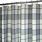 Park B. Smith® Baja Platinum 72-Inch x 72-Inch Watershed® Large Check Shower Curtain
