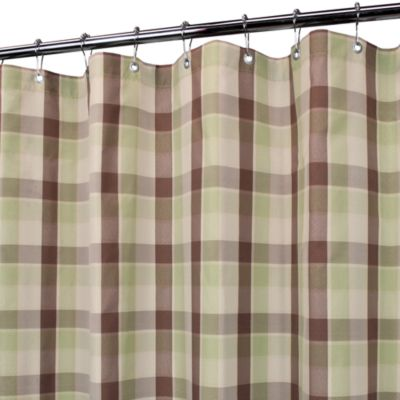 Park B. Smith® Baja Yarn-Dyed Celedon 72-Inch x 72-Inch Watershed® Shower Curtain