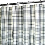 Park B. Smith® Baja Platinum 72-Inch x 72-Inch Watershed® Small Check Shower Curtain
