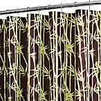 Park B. Smith® Bamboo Garden Coffee 72-Inch x 72-Inch Watershed® Shower Curtain