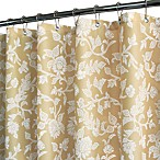 Park B. Smith® Floral Swirl 72-Inch x 72-Inch Watershed® Shower Curtain in Taupe