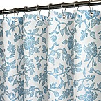 Park B. Smith® Floral Swirl Blue 72-Inch x 72-Inch Watershed® Shower Curtain