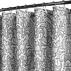Park B. Smith® Rococo Scroll Silver 72-Inch x 72-Inch Watershed® Shower Curtain
