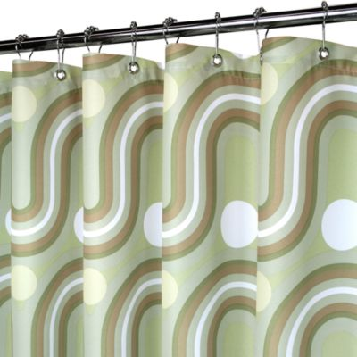 Park B. Smith® Squiggles 72-Inch x 72-Inch Watershed® Shower Curtain