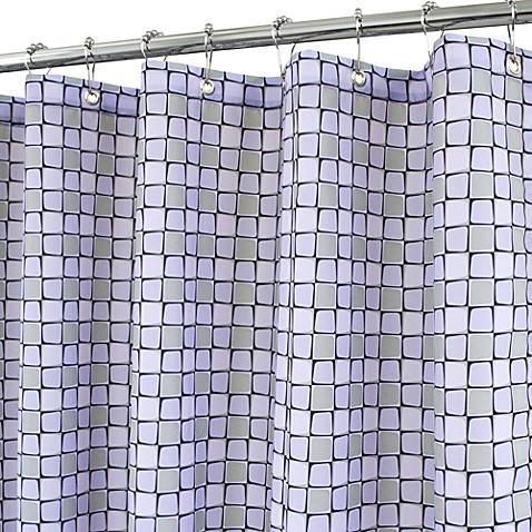 Park B. Smith® Urban Tiles Purple 72-Inch x 72-Inch Watershed® Shower Curtain