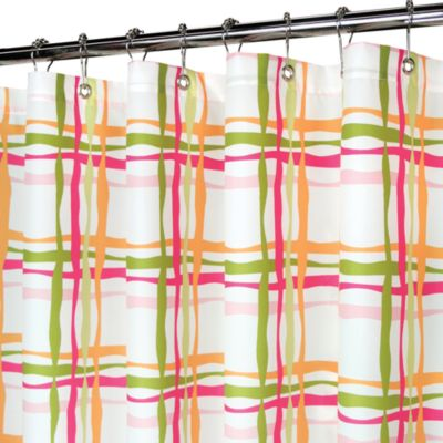 Park Wavy Plaid 72 x 72 Watershed® Shower Curtain