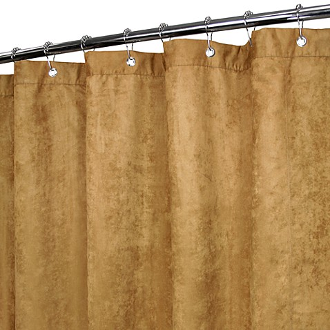 Park B. Smith® Rich Suede in Suede 72-Inch x 72-Inch Watershed® Shower Curtain