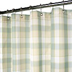 Park B. Smith® Baja Yarn-Dyed Fresco 72-Inch x 72-Inch Watershed® Small Check Shower Curtain