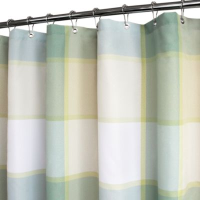 Park B. Smith® Plaid Shower Curtain