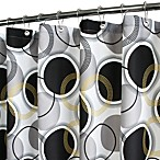 "Park B. Smith® Circle Central 72"" x 72"" WaterShed® Shower Curtain"