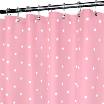 WaterShed Pink Shower Curtains