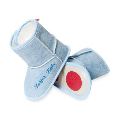 Silly Souls® Surfer Babe Size 6-12 months Boots in Blue