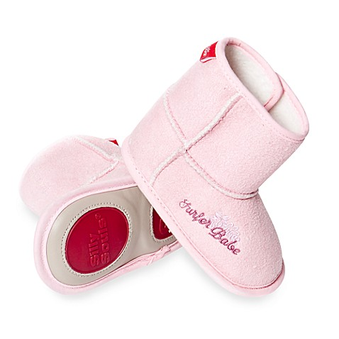 Silly Souls® 0-6 months Surfer Babe Boots in Pink