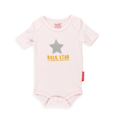 Silly Souls® Rock Star Bodysuit in Pink