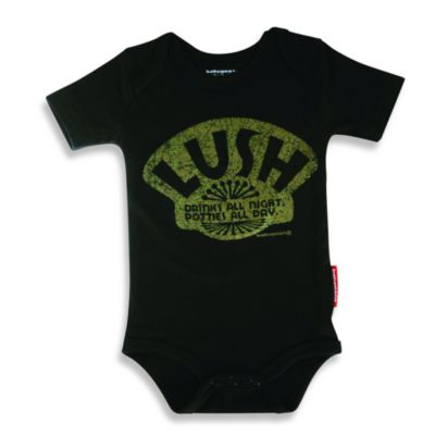 Silly Souls® Size 6-12 Months Lush Bodysuit in Black