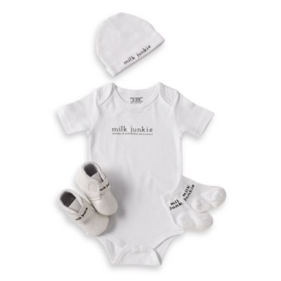 Silly Souls® Milk Junkie 4-Piece Gift Set