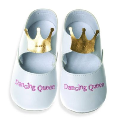 Silly Souls® Dancing Queen Size 12-18 months Shoes in White