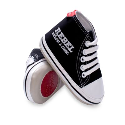Silly Souls® Rebel: Without a Cause Shoes in Black