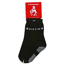 Silly Souls® Rock Star Socks in Black