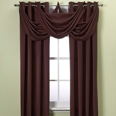 Odyssey 95-Inch Insulating Window Panel in Brown