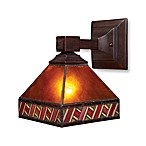 ELK Lighting Santa Fe 1-Light Sconce in Mission Bronze