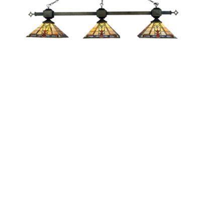 Elk Lighting Sedona 3-Light Billiard/Island Light in Tiffany Bronze