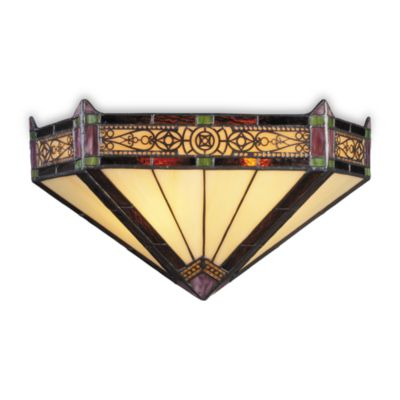 ELK Lighting Filigree 2-Light Sconce in Aged Bronze