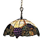 Grapevine Pendant Light With Honey Dune Glass