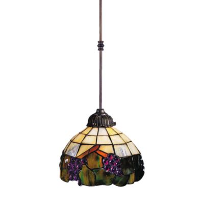 Elk Lighting 1-Light Pendant Antique