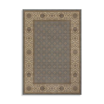 "Couristan Genoa Blue 94"" x 134"" Room Size Rug"