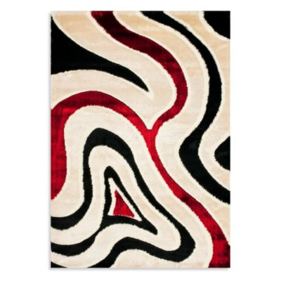 Safavieh Novak 4-Foot x 6-Foot Accent Shag Rug in Cream