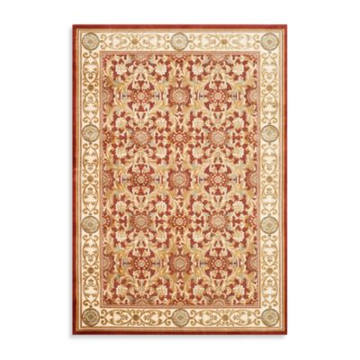 Safavieh Acanthus Scroll 5-Foot 3-Inch x 7-Foot 6-Inch Room Size Rug