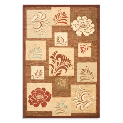 Safavieh Brighton 4-Foot x 6-Foot Accent Rug in Brown/Multi