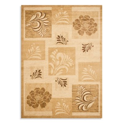 Safavieh Brighton 2-Foot 3-Inch x 8-Foot Runner in Ivory/Multi
