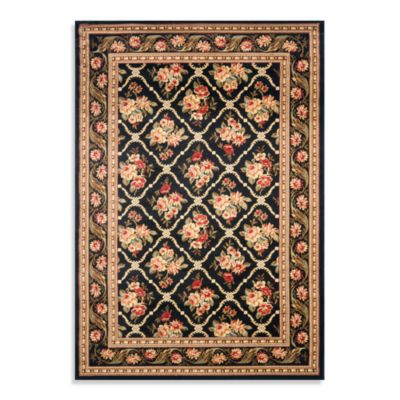 Safavieh Courtland 105-Inch x 144-Inch Room Size Rug in Black