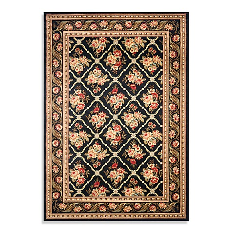 Safavieh Courtland 4-Foot x 6-Foot Accent Rug in Black