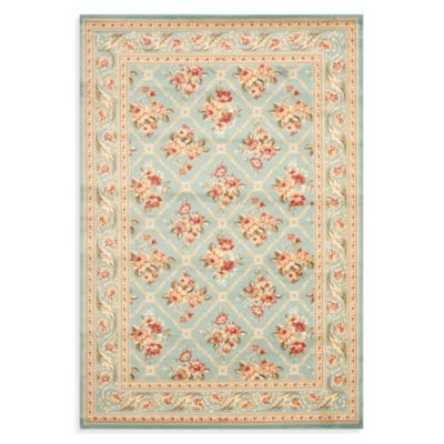 Safavieh Courtland 6-Foot 7-Inch x 9-Foot 6-Inch Room Size Rug in Blue